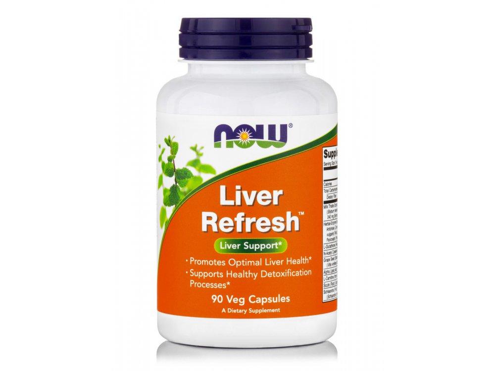 Now Liver Detoxifier & Regenerator 90veg.caps