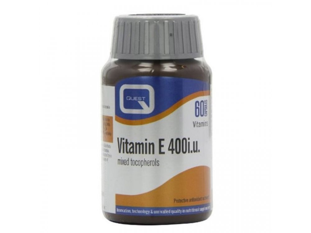 Quest Nutrition Vitamin E 400iu 60tabs