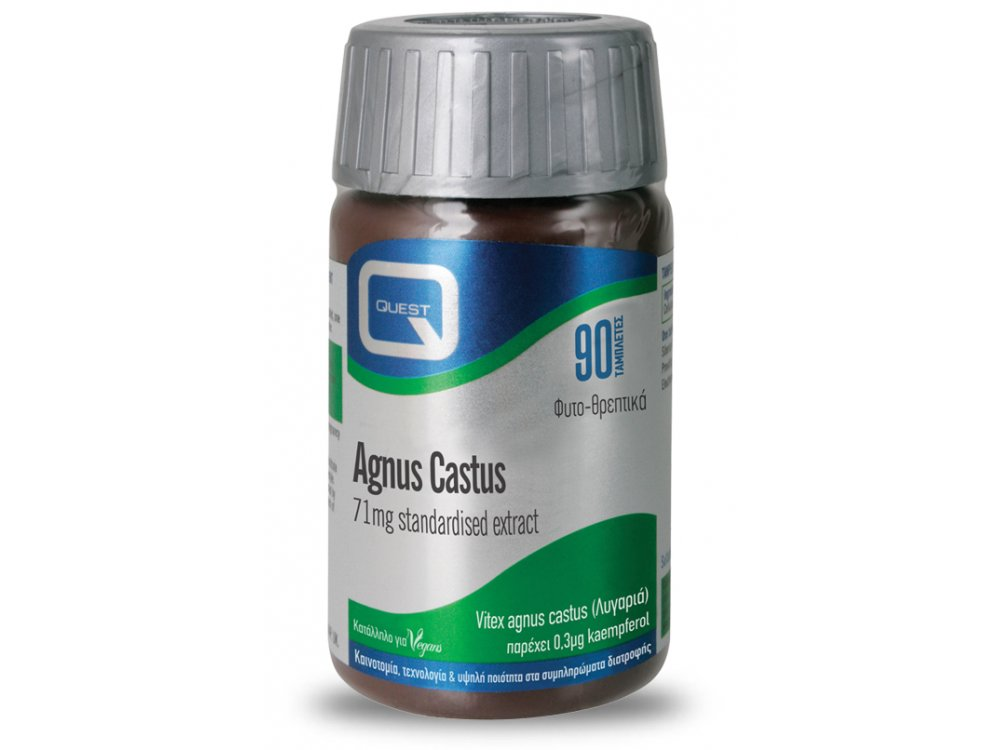 Quest Agnus Castus 71mg Standardised Extract 90tabs