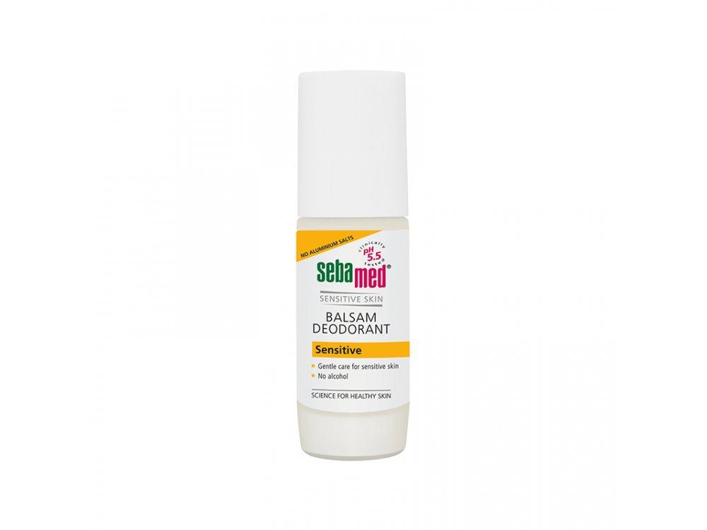 Sebamed Balsam Deodorant Sensitive Roll-On, Αποσμητικό για ευαίσθητες επιδερμίδες, 50ml