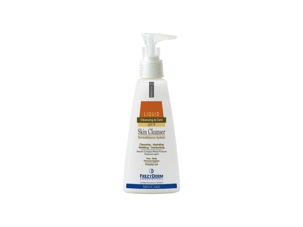 Frezyderm Skin Cleanser Καθαριστικό Προσώπου, Χεριών & Σώματος, 125 ml