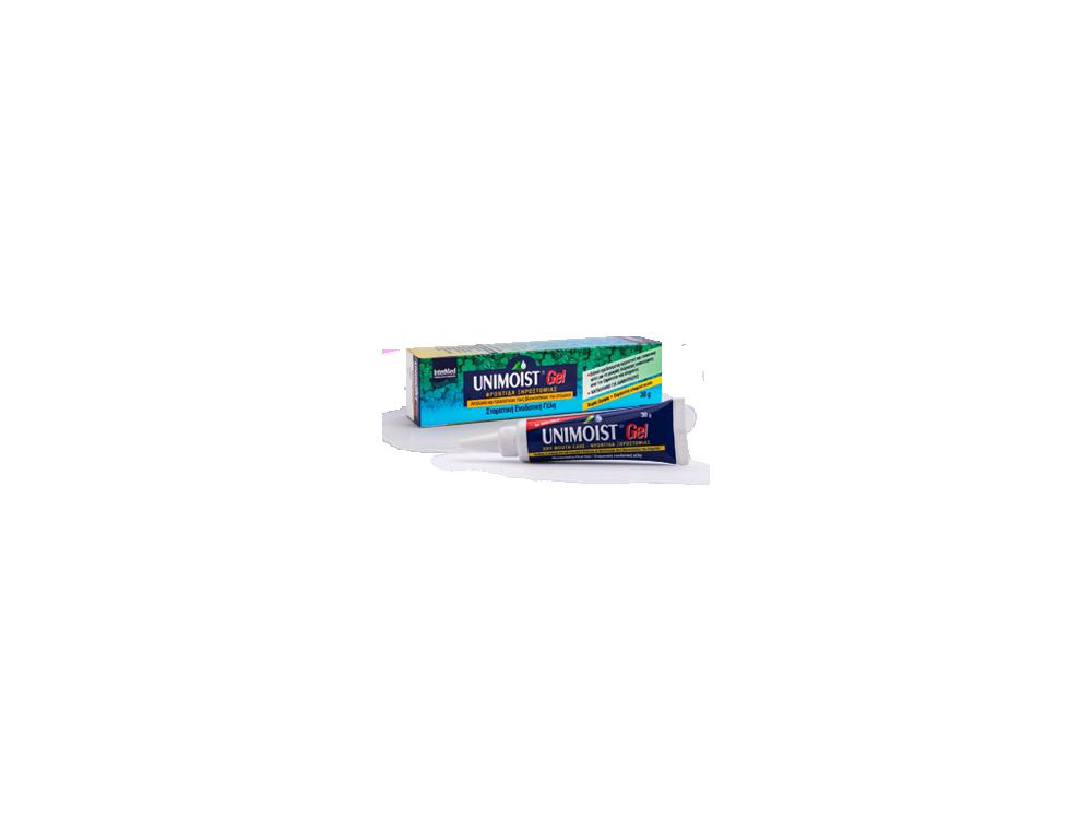 InterMed Unimoist Gel, Καθημερινή Ανακούφιση της Ξηροστομίας, 30gr