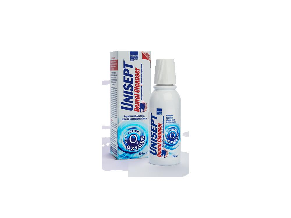 InterMed Unisept Dental Cleanser, Καθημερινό Στοματικό Διάλυμα, 250ml