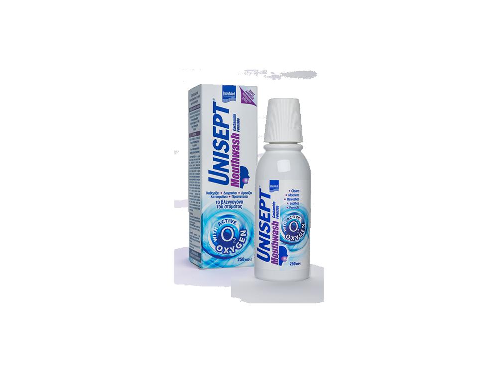 InterMed Unisept Mouthwash, Στοματικό Διάλυμα, 250ml