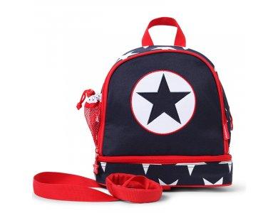 Penny Scallan Junior Backpack, Navy Star, Σακίδιο-Τσάντα Πλάτης φαγητού