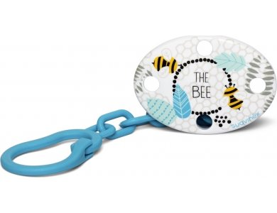 Suavinex Κλιπ Πιπίλας Oval Fusion The Bee Blue