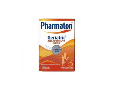 Pharmaton Geriatric Συμπλήρωμα Διατροφής με Συνδυασμό Βιταμινών, Μετάλλων, Ιχνοστοιχείων & Ginseng G115, 20eff.Tabs