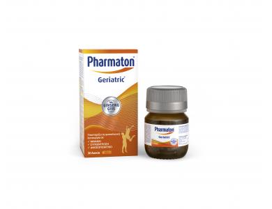Pharmaton Geriatric Δισκία, Πολυβιταμίνη με Ginseng G115 ,30 Δισκία