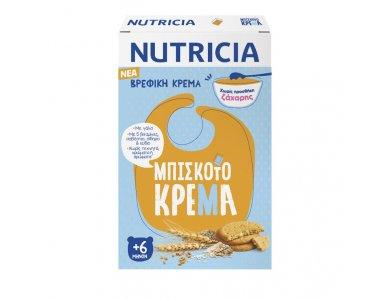 Nutricia Μπισκοτόκρεμα Βρεφική Κρέμα 6m+, 250gr