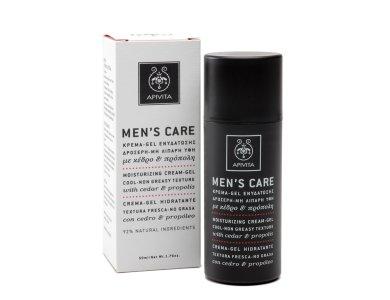 Apivita Men's Care Cream Gel με κέδρο & πρόπολη 50ml