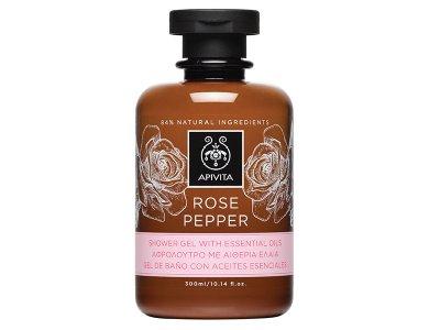 Apivita Αφρόλουτρο Rose Pepper Αφρόλουτρο 300ml