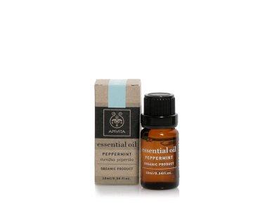 Apivita Essential Oil Peppermint Αιθέριο Έλαιο Μέντα, 10ml