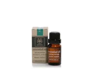 Apivita Essential Oil Eucalyptus Αιθέριο Έλαιο Ευκάλυπτος,10ml