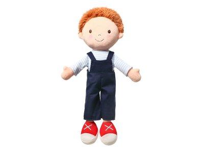BabyOno Oliver Doll Black, Παιχνίδι αγκαλιάς Κούκλα