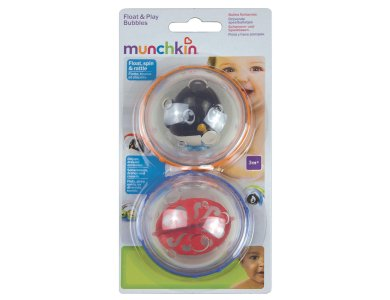 Munchkin Παιδικό Παιχνίδι Μπάνιου που Επιπλέει, Float & Play Bubbles 3m+, 2τμχ