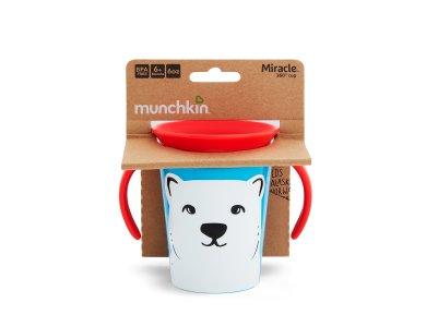 Munchkin Miracle 360° Sippy Cup 6m+ Polar Bear, 177ml
