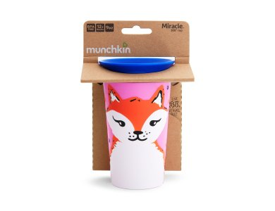 Munchkin Miracle 360° Sippy Cup 12m+ Fox, 266ml