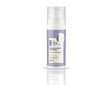 Natura Siberica Rhodiola Rosea Day Cream SPF-20, Προσώπου Προστασία και Ενυδάτωση, 50ml