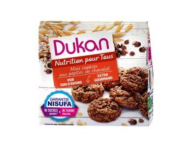 Dukan Μίνι Cookies Βρώμης με κομμάτια Σοκολάτας, 100gr