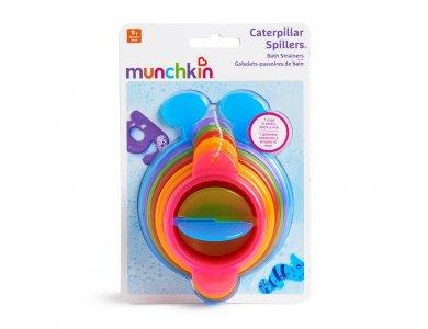 Munchkin Σετ με 7τμχ Πολύχρωμα και Αριθμημένα Ποτηράκια Caterpillar Spillers, 9m+