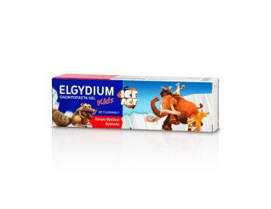 Elgydium Kids Ice Age Strawberry Toothpaste, Παιδική Οδοντόπαστα με γεύση Φράουλα, 50ml