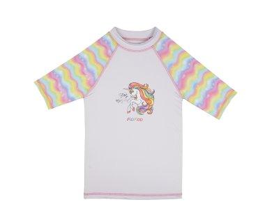 SlipStop Unicorn UV Shirt, Μπλουζάκι με δείκτη Προστασίας από τον Ήλιο, 2-3 YRS