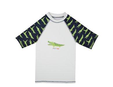SlipStop Crocodile UV Shirt, Μπλουζάκι με δείκτη Προστασίας από τον Ήλιο, 6-7 YRS