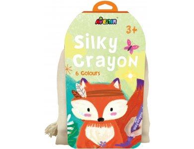 Avenir Arts & Crafts Silky Crayons Fox 6 Διαφορετικά Χρώματα