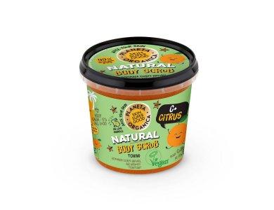 Organic Shop Skin Super Good, Φυσικό Απολεπιστικό Σώματος «C+ Citrus», για Τόνωση,  360ml