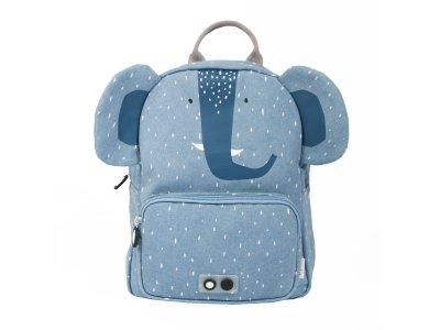 Trixie Backpack Mr. Elephant, Σακίδιο-Τσάντα Πλάτης, Ελέφαντας, 23 x 31 x 12 cm, 1τμχ