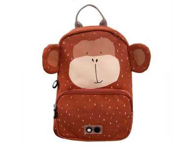 Trixie Backpack Mr. Monkey, Σακίδιο-Τσάντα Πλάτης, Μαϊμού, 23 x 31 x 12 cm, 1τμχ