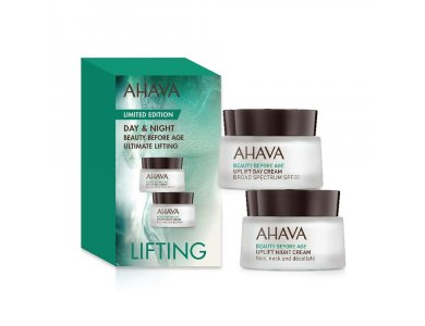 Ahava Limites Edition Day & Night Beauty Before Age Ultimating Lifting, 2x15ml