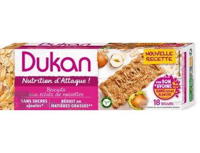 Dukan Μπισκότα Βρώμης με Γεύση Φουντούκι, 225gr