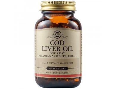 Solgar Cod Liver Oil 100softgels