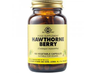 Solgar Hawthorne Berry 520mg 100Vegs.Caps