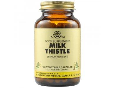 Solgar Milk Thistle 100mg 100Vegs.Caps