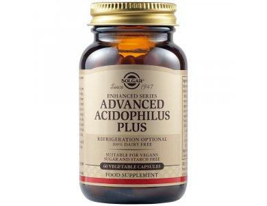 Solgar Advanced Acidophilus Plus 60Vegs.Caps