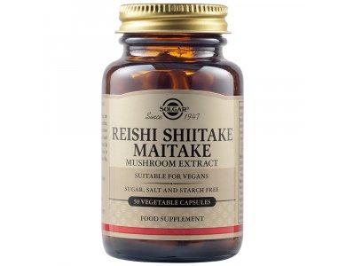Solgar Reishi Shiitake Maitake 50Vegs.Caps