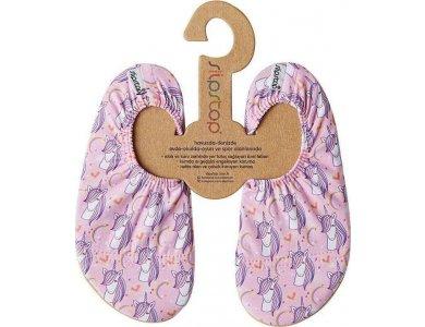 SlipStop Αντιολισθητικές Παντόφλες Pink Unicorn (S), No24-26