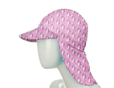 Slipstop Pink Unicorn UV Hat, Παιδικό Αντηλιακό Καπέλο με δείκτη προστασίας UPF50+