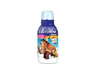 Elgydium Junior Ice Age Mouthwash Με Γεύση Κόκκινων Μούρων 500ml