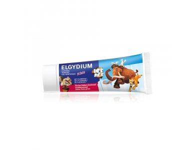 Elgydium  Kids Ice Age Strawberry Οδοντόπαστα Σωληνάριο 50ml