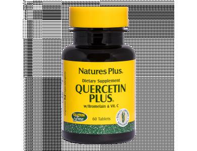 Nature's Plus Quercetin Plus with Vitamin C & Bromelain 60tabs