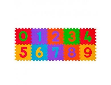 BabyOno Foam Puzzles, Αφρώδες παζλ δαπέδου - Αριθμοί, 10pcs