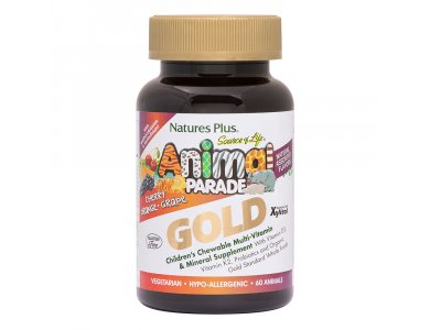 Nature's Plus Animal Parade Gold Assorted 60tabs