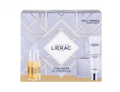 Lierac Promo Cica-Filler Serum 3x10ml & ΔΩΡΟ Cica-Filler Cream 40ml & Δερμάτινο Πορτοφόλι