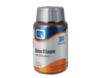 Quest Stress B Complex + 500mg C 30tabs