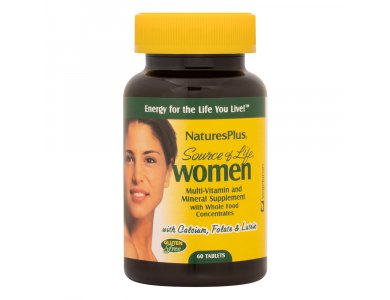 Nature's plus Source Of Life Women's  Multivitamin 60tabs