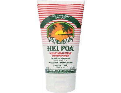 Hei Poa Shampoo Balm Tiare, Σαμπουάν για Ξηρά & Κατεστραμμένα Μαλλιά με άρωμα Tiare, 150ml