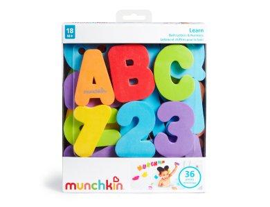 Munchkin Eκπαιδευτικό Παιχνίδι Μπάνιου με Γράμματα & Αριθμούς-Bath Letters & Numbers